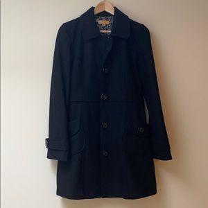 Tulle Pea Coat